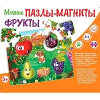 Пазлы мягкие магниты Фрукты рус 366924