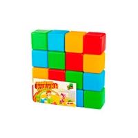 Кубики цветные 16шт M.toys 05063