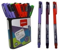Ручка шариковая 0,7мм Nataraj Grippo Joi Fine 50шт 206499035