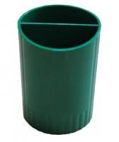 Подставка для ручек зеленая СТРП-02