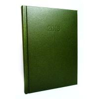 Ежедневник А5 датированный SAND зеленый Е21699-04