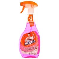 Средство для мытья стекл Мистер Мускул со спиртом (курок) Лесные ягоды 500мл*12