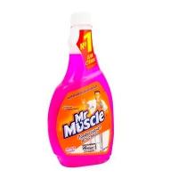 Средство для мытья стекл Мистер Мускул со спиртом (запаска) Лісові ягоди 500мл*12