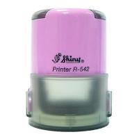 Оснастка автомат для круглой печати d 42 мм лаванда R-542