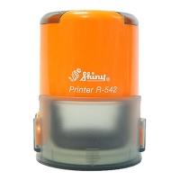 Оснастка автомат для круглой печати d 42мм оранжевая R-542
