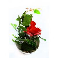 """Цветы искусственные """"Розы """"6-418 (173)"""