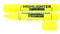 Маркер текстовый желтый 1-4,6мм клиноподобный Fax 8852/05