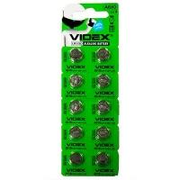 Батарейка AG10/LR1130 blister Videx (цена за 1 шт)
