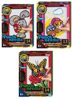 Набор для творчества PUNCH NEEDLE ковровая вышивка PN-01-01,02,03,04,05,06,07,08,09,10