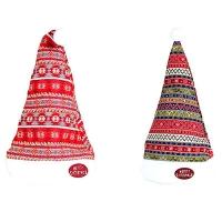 Новогодняя шапка 40см микс 4, 91973-PN