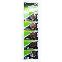 Батарейка дисковая GP Lithium Button Cell 3.0 V CR2016-8U5 литиевая Цена за 1шт