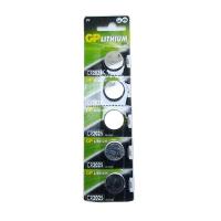 Батарейка дисковая GP Lithium Button Cell 3.0 V CR2025-8U5 литиевая Цена за 1 шт
