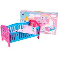 Кроватка для куклы ТехноК арт.4494