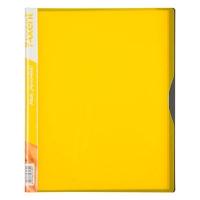 Папка А4 с 20 файлами желтая Axent 1120-08-А
