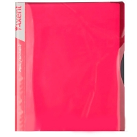 Папка А4 с 20 файлами розовая Axent 1120-10-А