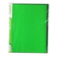 Папка А4 с 20 файлами салатовая Axent 1120-09-А