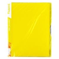 Папка А4 с 40 файлами желтая Axent 1140-08-А