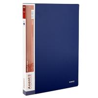 Папка А4 с 80 файлами синяя Axent 1280-02-А
