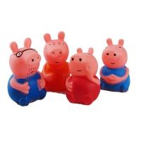 Пищалка свинка Пепа 4шт в сетке 3040