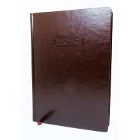 Ежедневник А5 датированный NEBRASKA темно-коричневый О25233-43