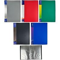 Папка А4 с 30 файлами Economix Light микс F37603-02