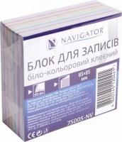 Блок для записей 400л полосатый клееный 85*85  NV-75005