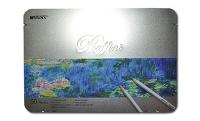 Карандаши цветные 50шт шестигранные в металл упаковке MARCO 7100-50TN