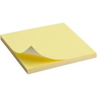 Блок бумаги для записей 75*75мм 100л желтый Delta by Axent D3314-01
