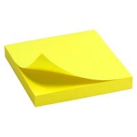 Блок бумаги для записей 75*75мм 100л ярко-желтый Delta by Axent D3414-11