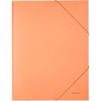 Папка на резинке А4 Axent Pastelini персиковая 1504-42-A