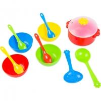 Набор посуды столовый 12ел Ромашка Tigres 39143