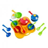 Набор посуды столовый 19ел Ромашка Tigres 39146