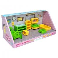 Набор мебели для кукол 7эл спальня Tigres 39697