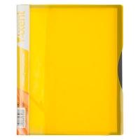 Папка А5 с 20 файлами желтая 1220-08-А