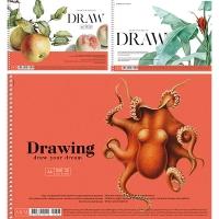 Альбом для рисования А4 30л MUSE PB-SC-030-306