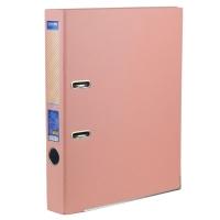 Папка регистратор А4 Economix 50 мм пастель розовая собранная Е39720-89