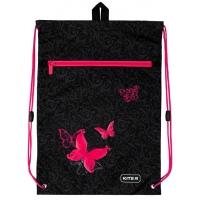 Сумка для обуви с карманом Butterfly tale Kite K20-601M-13