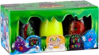 Вязкая масса Magnetic Slime&Fluffy Slime&Crazy Slime Fluoric 3в1 рус SLM-14-01