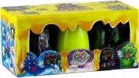 Вязкая масса Magnetic Slime&Fluffy Slime&Crazy Slime Fluoric 3в1 укр SLM-14-01U