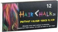 Мел для волос 12 цветов 6,5*1*1см B357-12