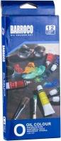 Краски масляные 12цв в тубе 12мл BARROCO 1212O