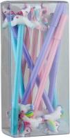 Ручка гелевая синяя единорог NoName 327