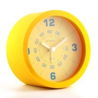 Часы-будильник силикон. круглый  53051