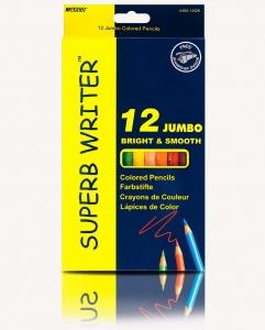 Карандаши цветные 12шт Jumbo Marco 4400-12СВ