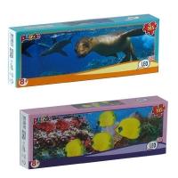 """Пазлы 105эл. LEO LUX  """"Подводный мир """" арт,196  16шт. в блоке, 12 в упаковке"""