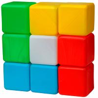 Кубики детские цветные №9 ПЛ003