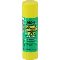 Клей карандаш 22г AMOS 3222