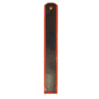 Линейка металлическая в чехле 20см (19-365);10-2 (23985)