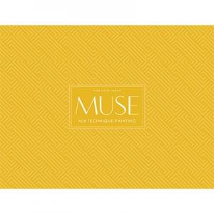 Блок на склейке А4+ 15л Mix Texchnigue MUSE PD-GB-015-035