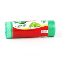 Пакеты для мусора с затяжкой Мелочи Жизни 60л*20 шт 980